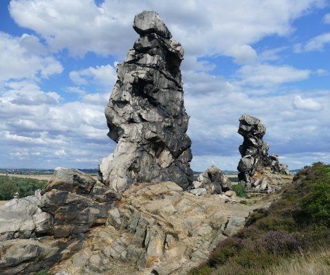 Ein Ausflug zur Teufelsmauer im Harz